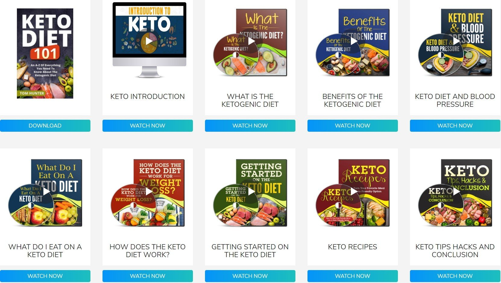 Company Website Custom Keto Diet Plan